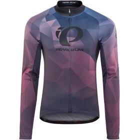 PEARL iZUMi LTD Langærmet cykeltrøje Herrer violet/blå